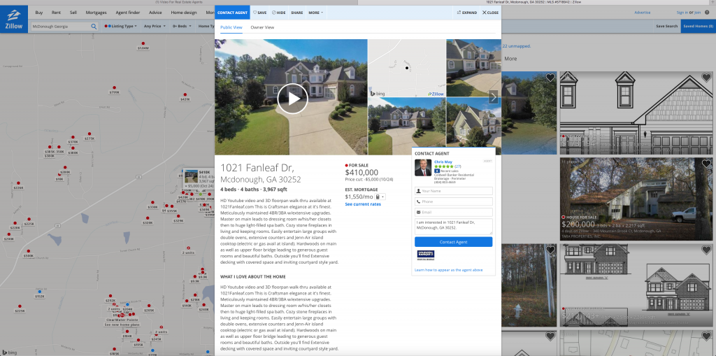Add Video To Zillow
