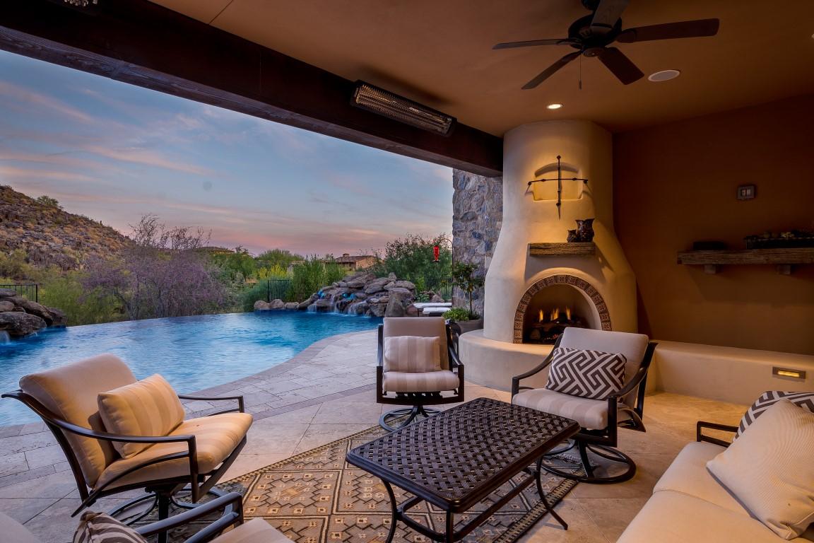 Outdoor Living Twilight at Sunset - Hub Media Company on Outdoor Living Company id=61855